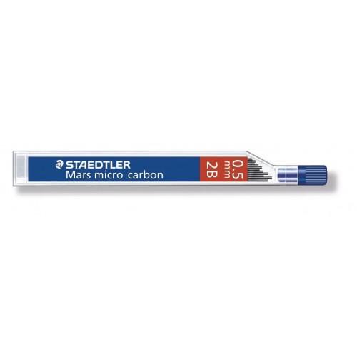Грифель для автоматического карандаша Staedtler, 0,5 мм, 2B, арт.ST25005-2B