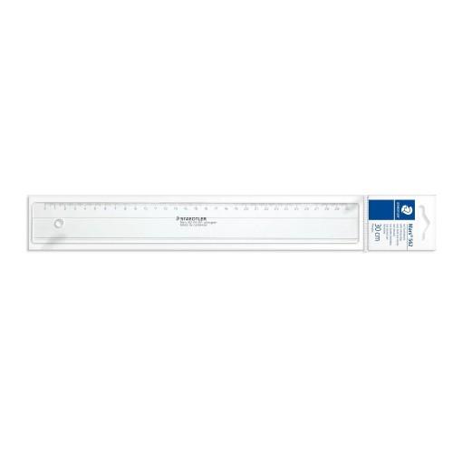 Линейка пластиковая Staedtler, 30 см, прозрачная, арт.ST56204-30F