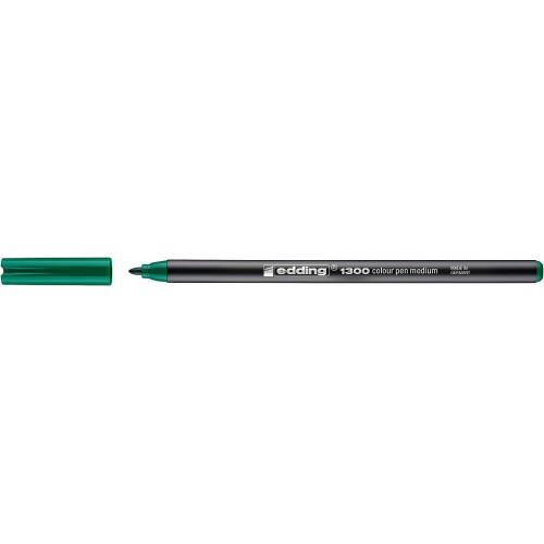 Фломастер Edding (Эддинг) 1300, круглый наконечник, 3 мм, зеленый 004