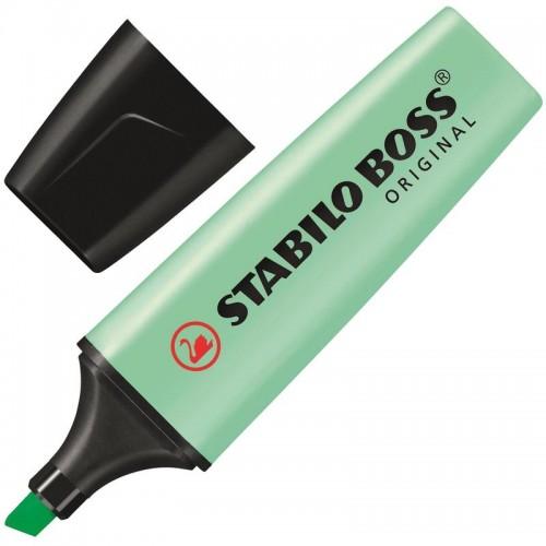 Маркер текстовыделитель Stabilo Boss Original Pastel 70/116, 2-5 мм, мята