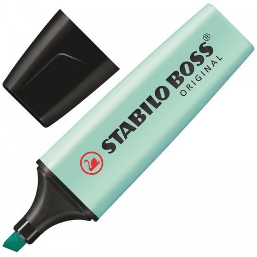 Маркер текстовыделитель Stabilo Boss Original Pastel 70/113, 2-5 мм, бирюзовый