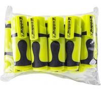 Маркер текстовыделитель Edding (Эддинг) 7 Mini, клиновидный наконечник, неон-жёлтый 065, 10 шт в пакете