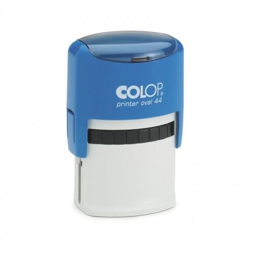 Оснастка автоматическая для овальной печати Colop Printer Oval 44, 28х44 мм, синяя
