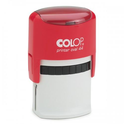Оснастка автоматическая для овальной печати Colop Printer Oval 44, 28х44 мм, красная