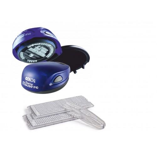 Печать самонаборная карманная пластиковая Colop Stamp Mouse R40/2 SET, 2 круга