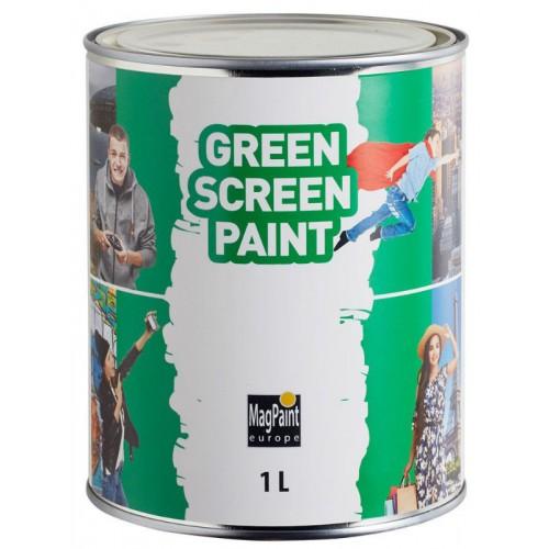 Краска MagPaint Зелёный экран GreenScreenPaint, 1 л