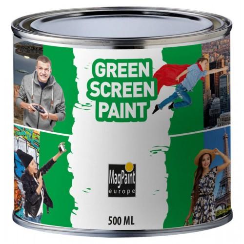 Краска MagPaint Зелёный экран GreenScreenPaint, 0,5 л