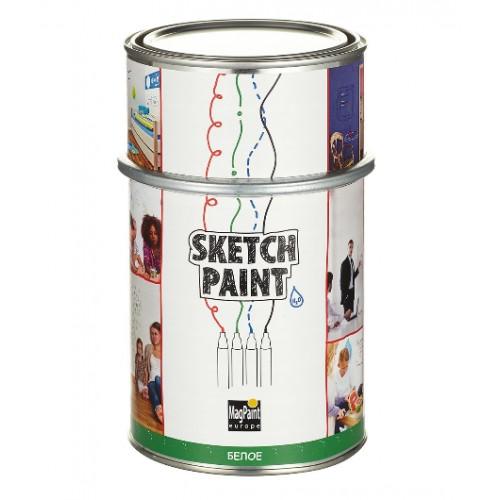 Покрытие маркерное MagPaint SketchPaint, белое, 1 л