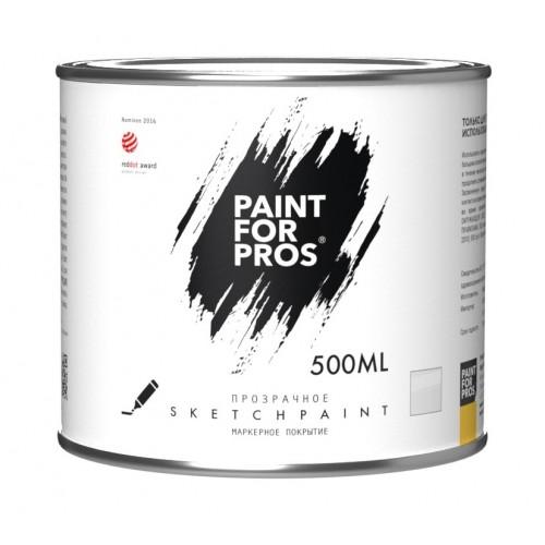 Покрытие маркерное MagPaint SketchPaint PFP (PRO), прозрачное, 500 мл