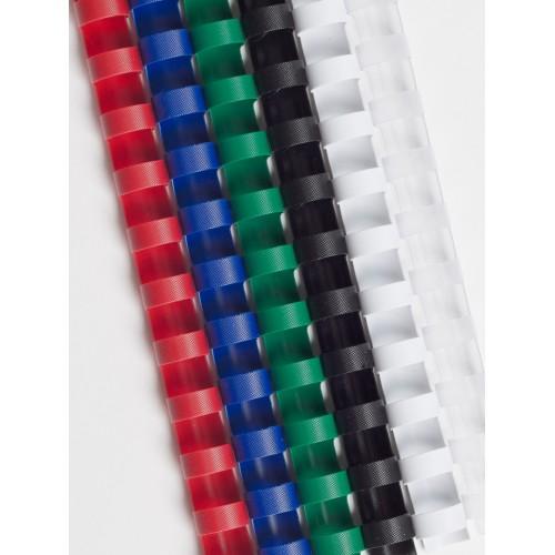 Набор пружин пластиковых для переплета ProfiOffice 6, 8, 12, 16, 22 мм, 36 шт./уп.