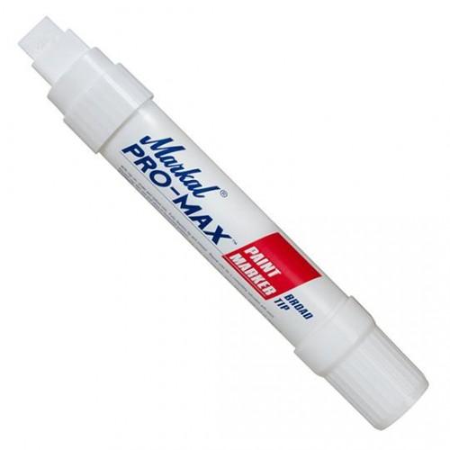 Маркер несмываемый промышленный Markal (Маркал) Pro-Max, белый