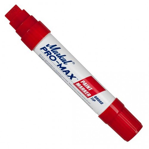 Маркер несмываемый промышленный Markal (Маркал) Pro-Max, красный