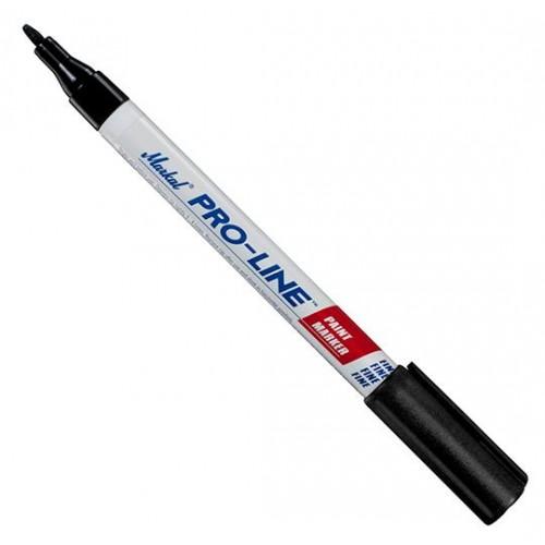 Маркер перманентный промышленный тонкий Markal (Маркал) Pro-Line fine SL.150, с клапаном, чёрный