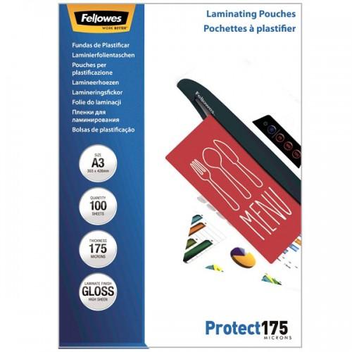 Плёнка для ламинирования Fellowes (Феллоуз) А3 175 мкм 100 шт./уп. FS-53088