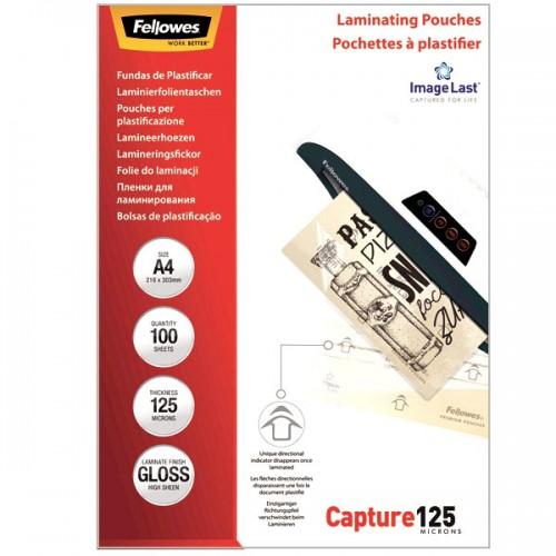 Плёнка для ламинирования Fellowes (Феллоуз) А4 125 мкм 100 шт./уп. FS-53074