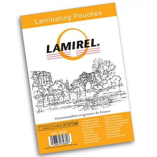 Плёнка для ламинирования Lamirel 85x120 мм 125 мкм 100 шт./уп. LA-7876701