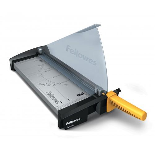 Резак сабельный для бумаги Fellowes (Феллоуз) Fusion A3, 10л., пласт. защитный экран. (CRC 54109), FS-54109