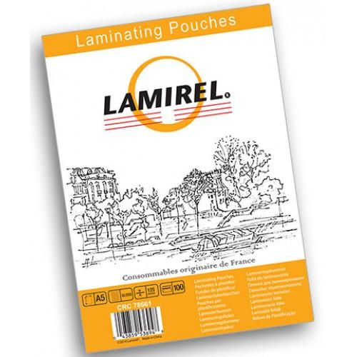 Плёнка для ламинирования Lamirel А5 125 мкм 100 шт./уп. LA-7866101