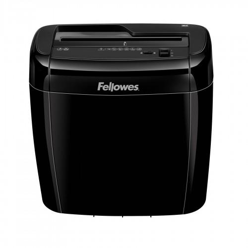 Уничтожитель бумаги (шредер) Fellowes (Феллоуз) Powershred 36C, DIN P-4, 4х40 мм, 6 лст., 12 лтр., Safety Lock FS-47003