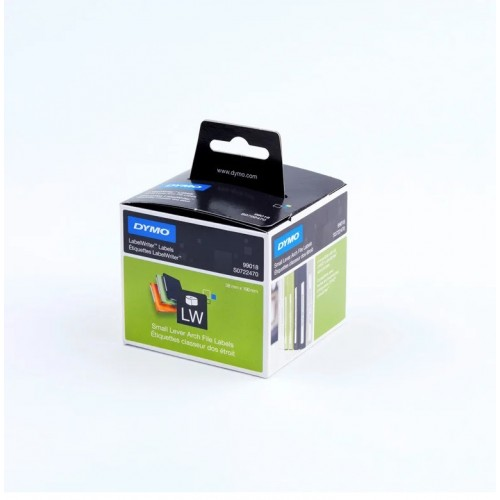 Этикетки Dymo на корешок папки-регистратора, 190х38мм, 110 штук в рулоне S0722470