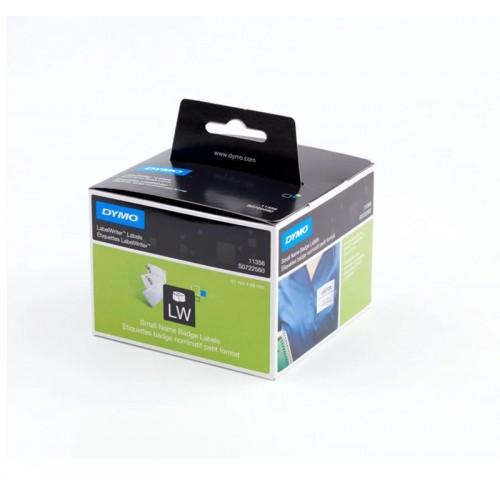 Этикетки бумажные Dymo для бейджей, 41x89мм, 300 штук в рулоне 79311
