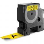 Картридж Dymo D1 с виниловой лентой, 24 мм х 7м, пластик, черный на желтой ленте S0720980