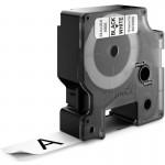 Картридж Dymo D1 с виниловой лентой, 19 мм х 7м, пластик, черный на белой ленте S0720830