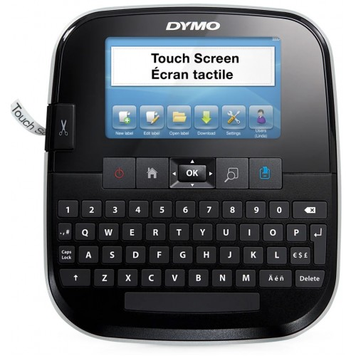Принтер ленточный Dymo Label Manager 500TS, ленты D1 ширина 6, 9, 12, 24мм, латиница USB S0946410