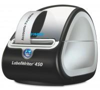 Принтер этикеток Dymo LableWriter 450, шириной до 60мм, скорость печати 51 этикетка в минуту