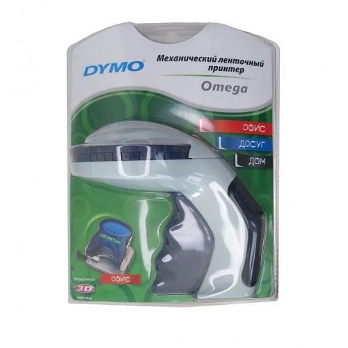 Принтер механический Dymo Omega ленточный, кириллица, в блистере S0719970