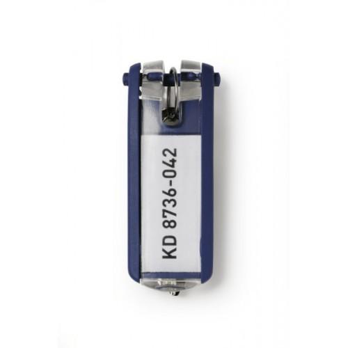 Брелок для ключей Durable Key Clip, синий, арт.D1957-07