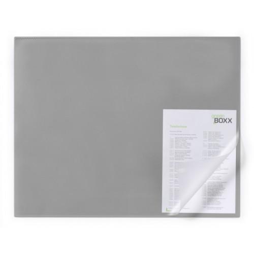 Настольное покрытие для стола Durable, с загнутым краем, 65х52 см, серое, арт.D7293-10