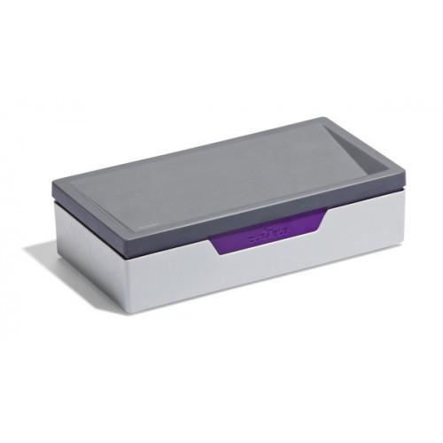 Бокс Durable для компьютерных принадлежностей, фиолетовый, арт.D7612-12