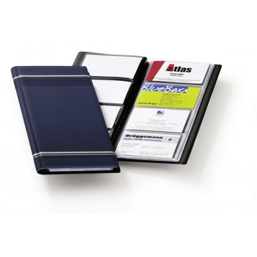 Визитница Durable Visifix 96, 250х118 мм, синяя, арт.D8581-07