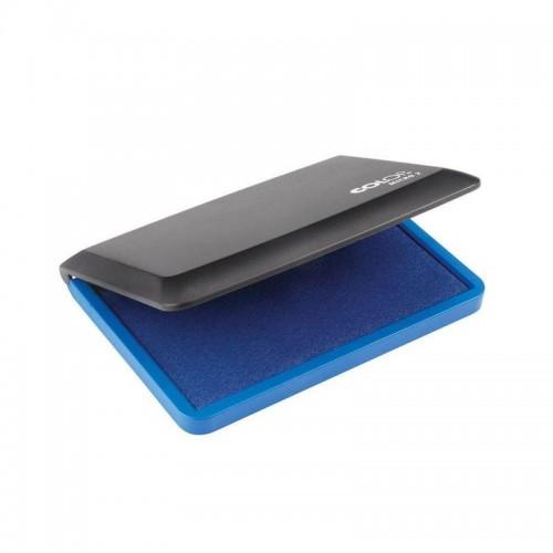 Подушка штемпельная настольная Colop Micro 2, 70х110 мм, синяя, блистер
