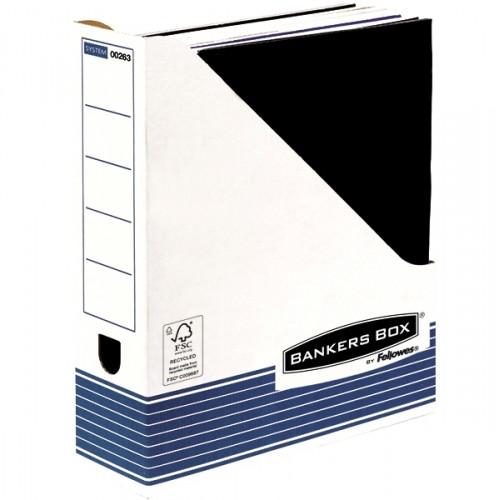Накопитель вертикальный Fellowes (Феллоуз) R-Kive Prima для документов 80x312x258 мм картон FS-0026301