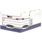 Короб архивный Fellowes (Феллоуз) Bankers Box System Maxi, с откидной крышкой, 390x310x560 мм FS-11415