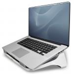 """Подставка для ноутбука  до 17"""" Fellowes (Феллоуз) I-Spire, белая/серая FS-93112"""