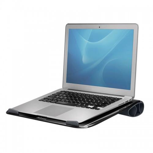 "Подставка для ноутбука до 17"" Fellowes (Феллоуз) I-Spire, до 6кг,  пластик, черная FS-94731"