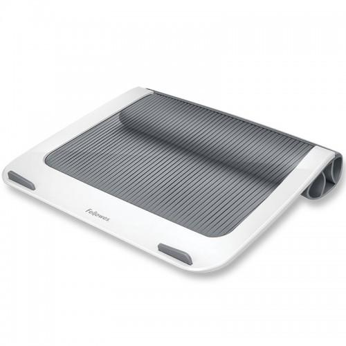 """Подставка для ноутбука до 17"""" Fellowes (Феллоуз) I-Spire, до 6кг, пластик, белая/серая FS-93812"""