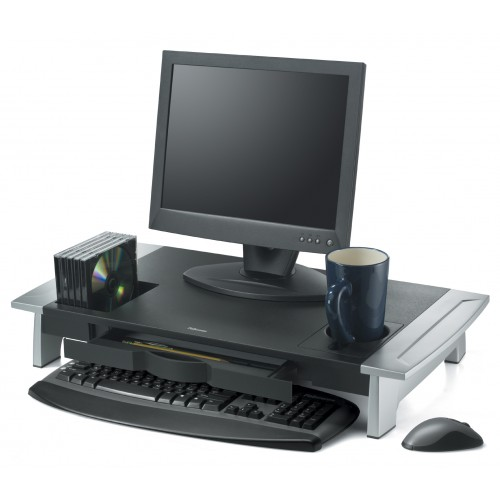 Подставка под монитор Premium Fellowes (Феллоуз) Office Suites до 36 кг черная FS-8031001