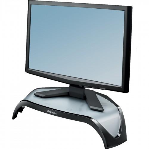 Подставка под монитор Fellowes (Феллоуз) Smart Suites регулировка высоты до 10 кг черная FS-8020101