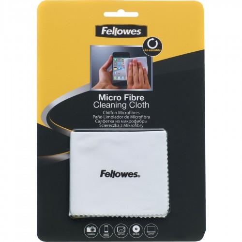 Салфетка из микрофибры Fellowes (Феллоуз) для чистки оптики видеокамер мониторов CD/DVD FS-99745