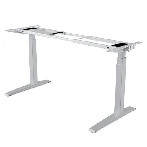 Основание стола Fellowes (Феллоуз) Levado с регулировкой высоты, серебристый FS-97086