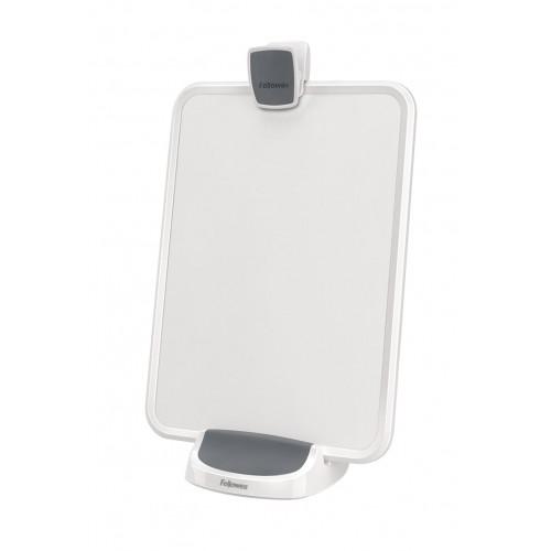 Держатель многофункциональный для документов и планшета Fellowes (Феллоуз) I-Spire, белый/серый FS-93115