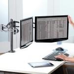 """Кронштейн для 2-х мониторов Fellowes (Феллоуз) Professional, до 26"""", до 10 кг каждый FS-80417"""