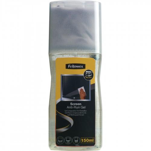 Гель чистящий Fellowes (Феллоуз) для экранов 150 мл. с салфеткой из микрофибры FS-9907901