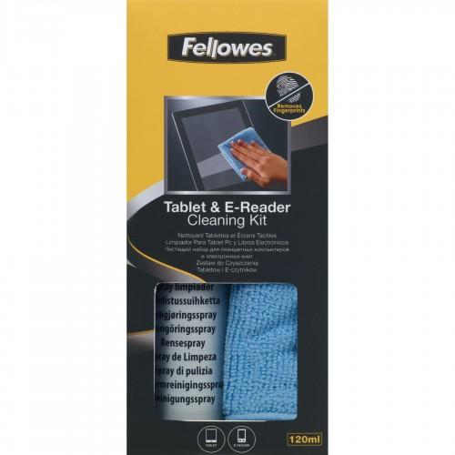 Набор чистящий Fellowes (Феллоуз) для планшетных компьютеров электронных книг и другой портативной техники (120 мл.) FS-9930501