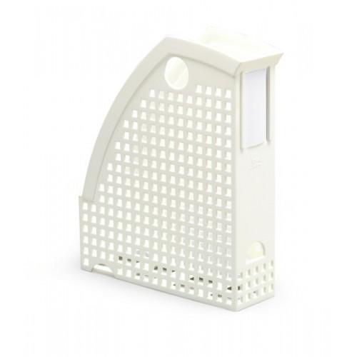 Лоток для бумаг вертикальный Durable Trend, А4, белый, арт.D1701625010
