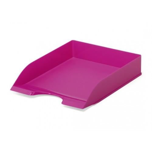 Лоток для бумаг горизонтальный Durable Basic, ярко-розовый, арт.D1701672034